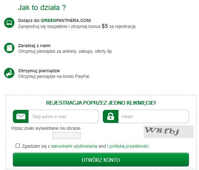 GreenPanthera - Opinie, Wypłaty. 5$ bonus za rejestracje. (Sprawdź) 11