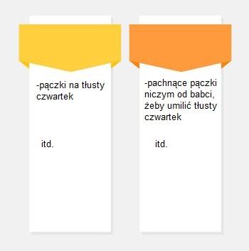 struktura nagłówków w pisaniu