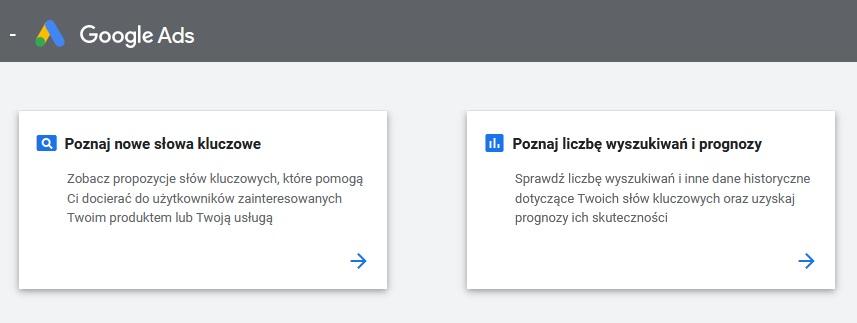 Pozycjonowanie stron z Google Keyword Planner