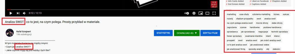 SEO YouTube 2021