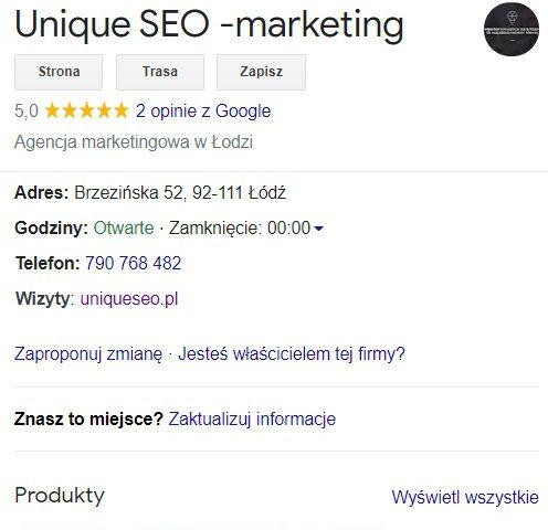Co to jest Google Moja Firma i dlaczego tego potrzebuję? 2