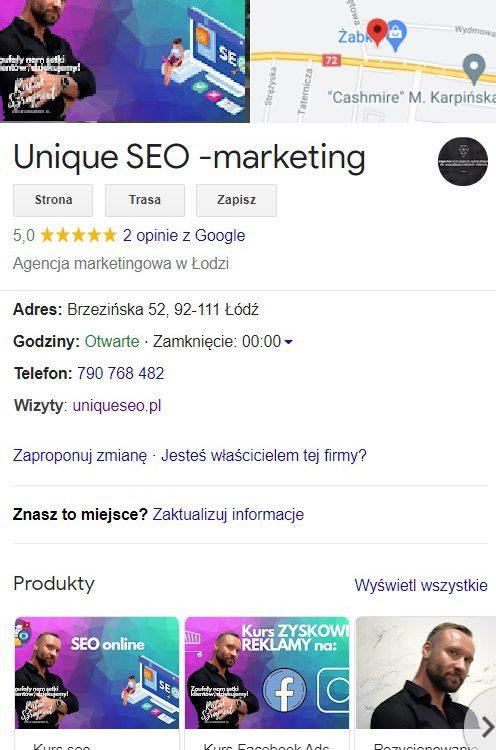 Co to jest Google Moja Firma i dlaczego tego potrzebuję? 3